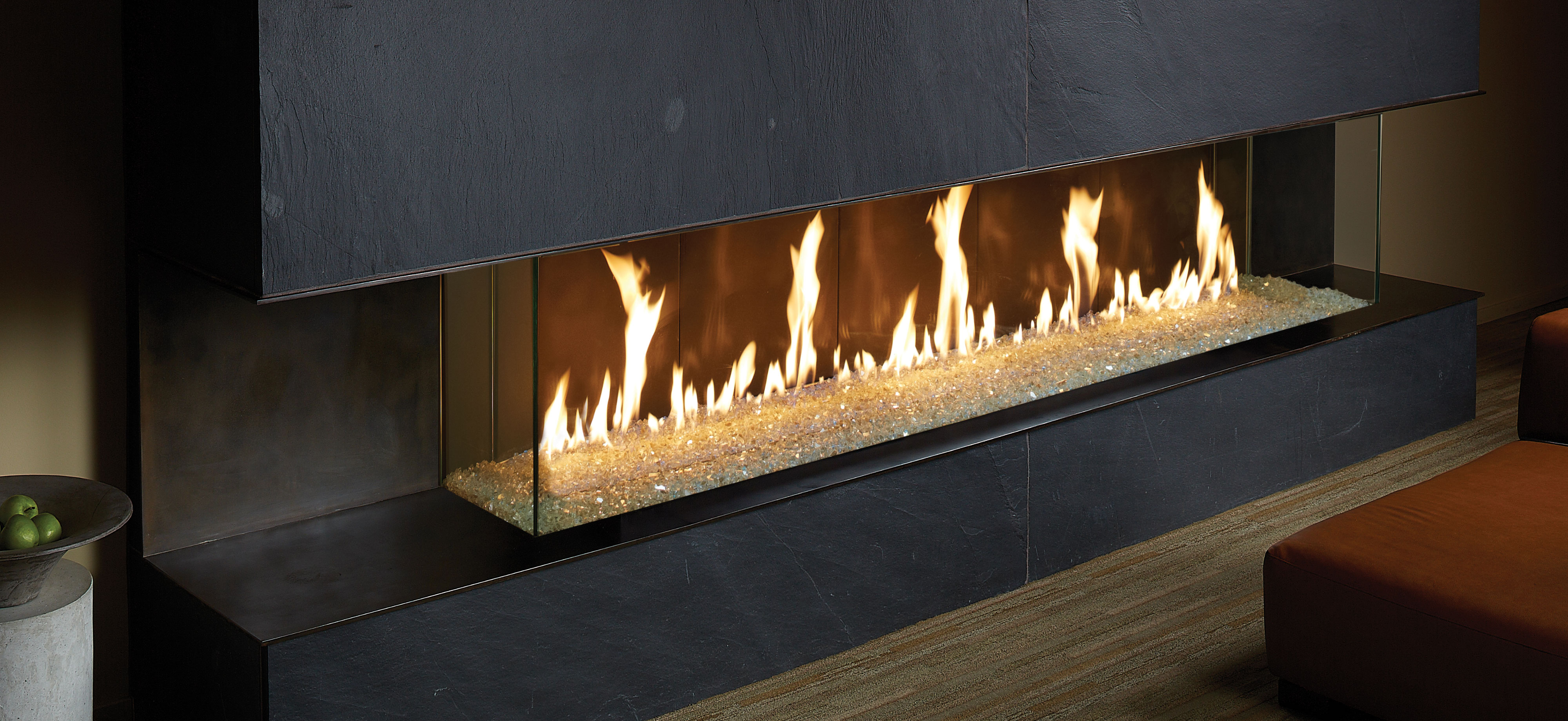 DaVinci Fireplace - Bay