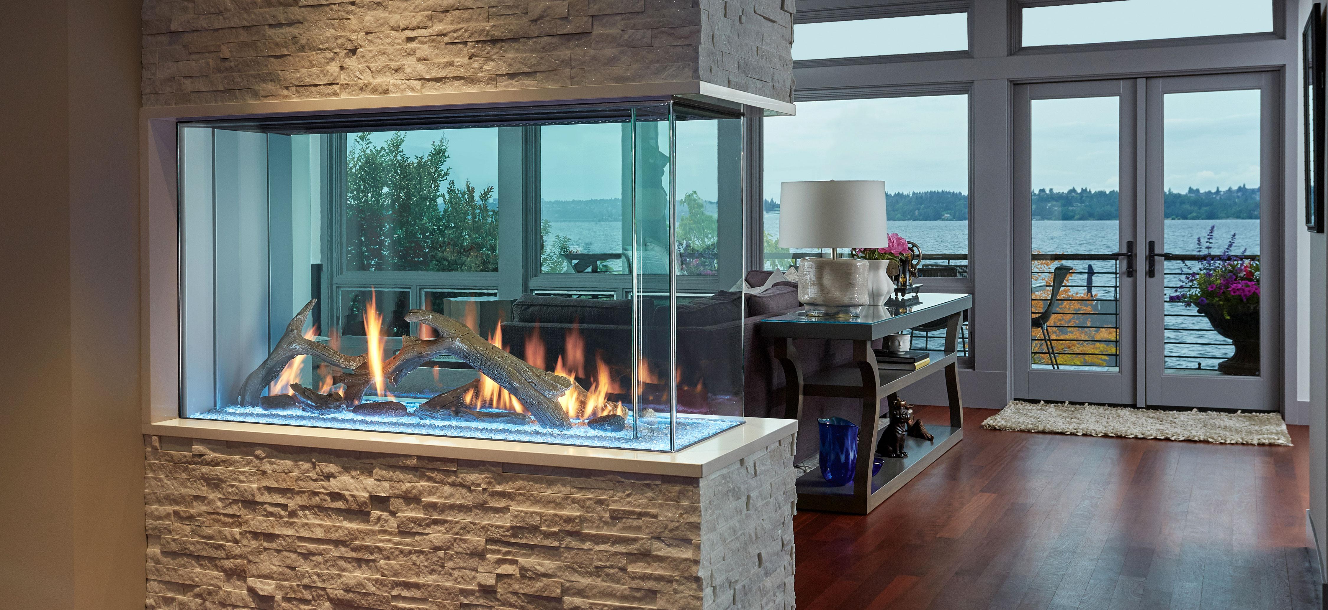 Davinci Fireplace - Pier